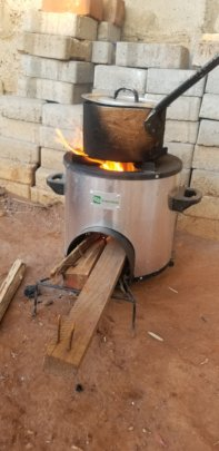 An environmentally friendly smoke free stove