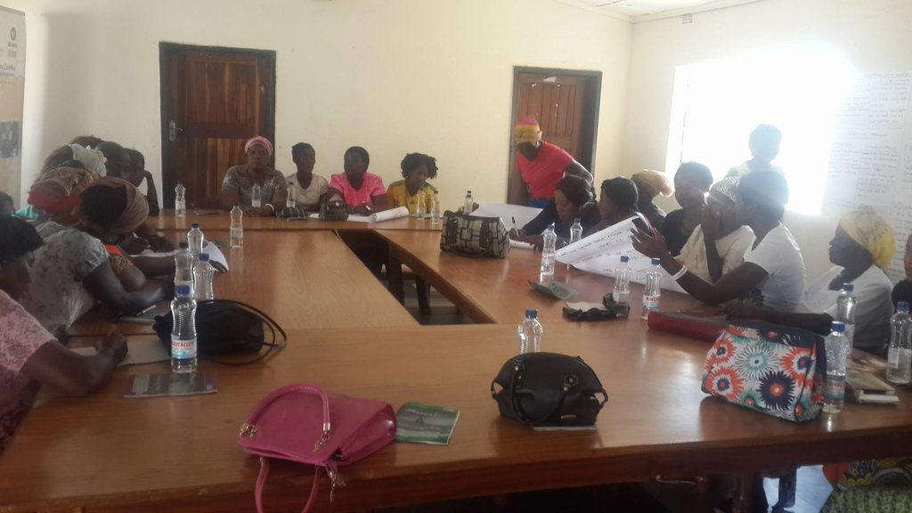 Business Training session in progress