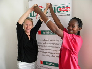 Alice and Teresa , Kenyan photovoice training 2011