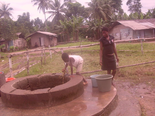 Prevent cholera in 5 border towns in cameroon