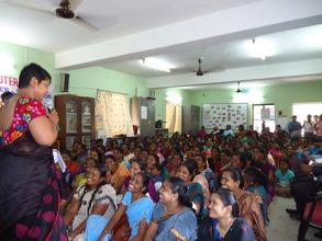 Women's Day event promoting KATHIR