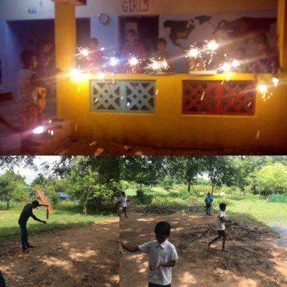 Lights, games and fun on Diwali