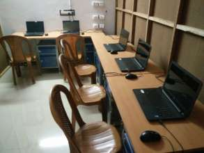 The New Computer Classroom at Dayspring