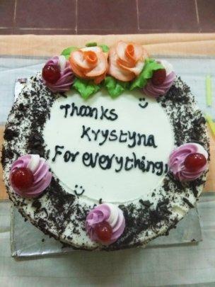 Love to Krystyna Volunteer !