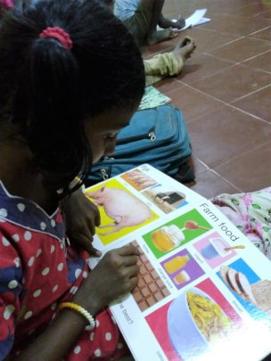 Learning English at Dayspring Home