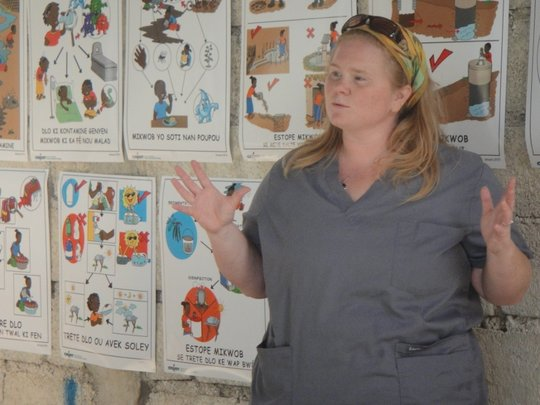 Teaching about Cholera and Water Safety