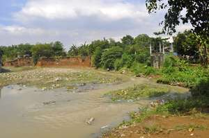 This river floods annually