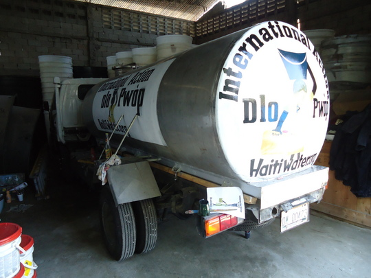 International Action Water Truck