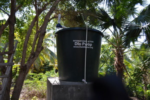 Clean water infrastructure at Ecole La Dignite