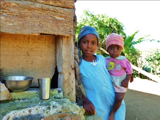 These sisters in Grand Savanne need clean water
