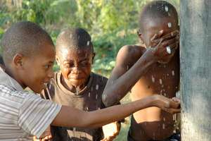 Happy to have clean water