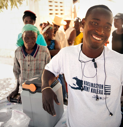 Help PIH Respond to Cholera Outbreak in Haiti