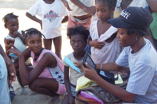 Djencia Eresa Augustin, Community Health Worker