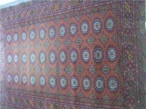 Carpet Produced in Weaving Class