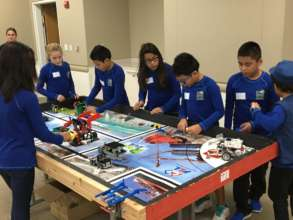PAST&E Robotics Team Preparing to Compete!
