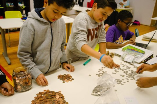 Counting Kind Coins for Kenya Donations