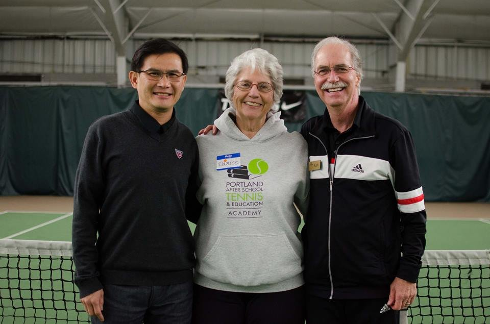 Bill Leong, Danice Brown, Kirk Anderson