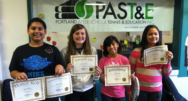 PAST&E Middle School Scholar Athletes Awarded