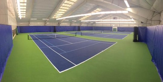 St. Johns Racquet Center's New Courts!