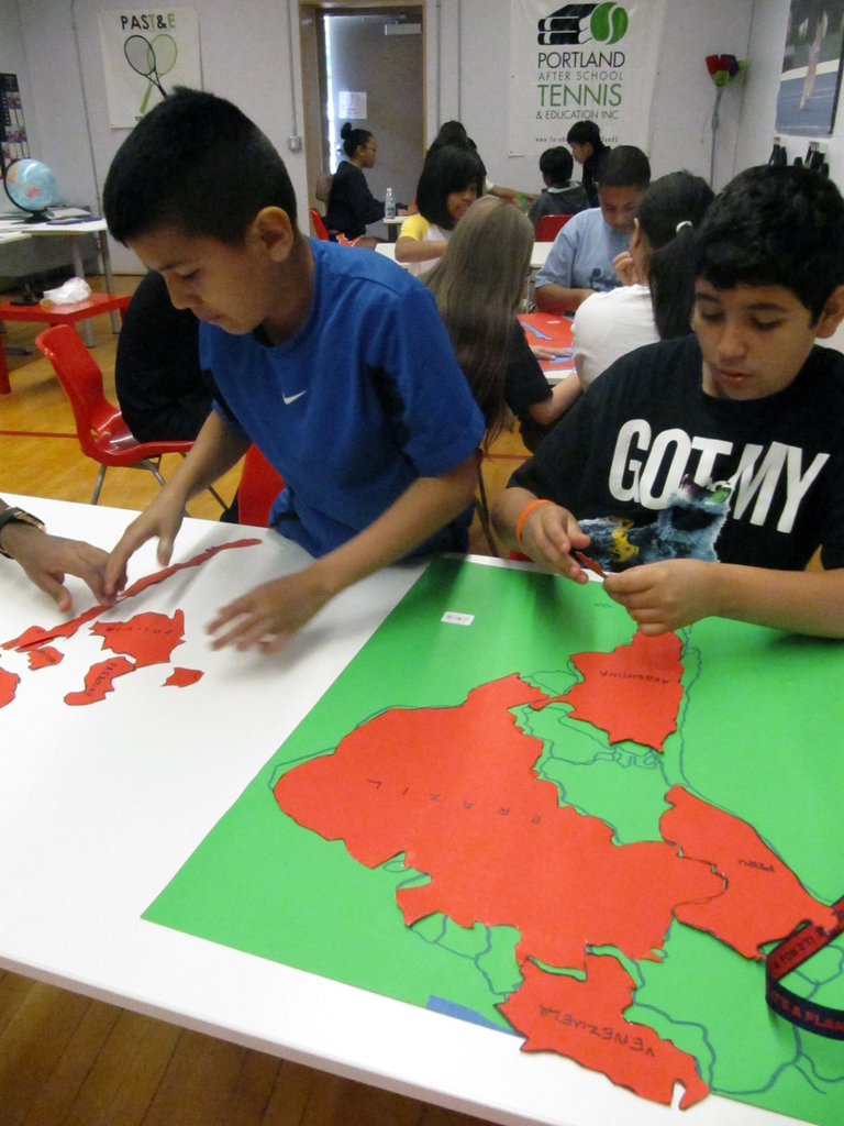 Learning the Countries of South America