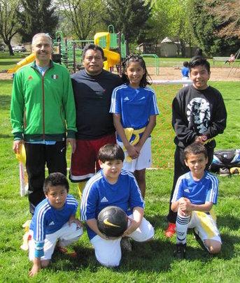 PAST&E Soccer League: Team Barcelona