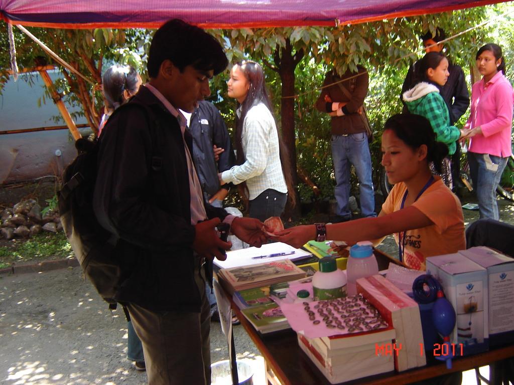 Purchase & Sales in Haat-Bazaar