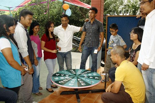 Fundraising Games during ECCA