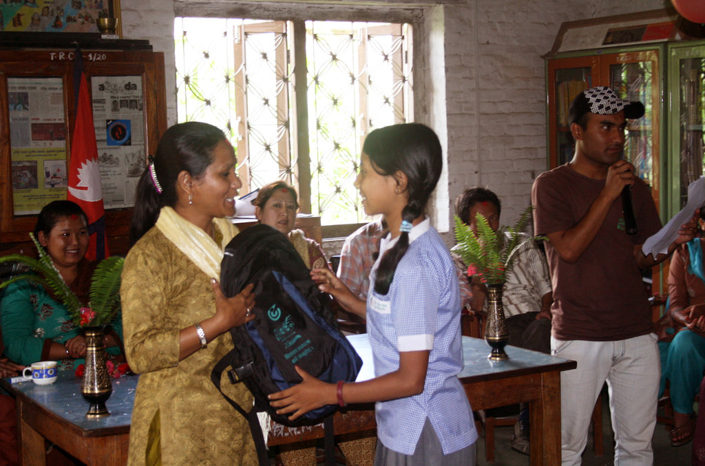 Scholarship Distribution on Teachers Day
