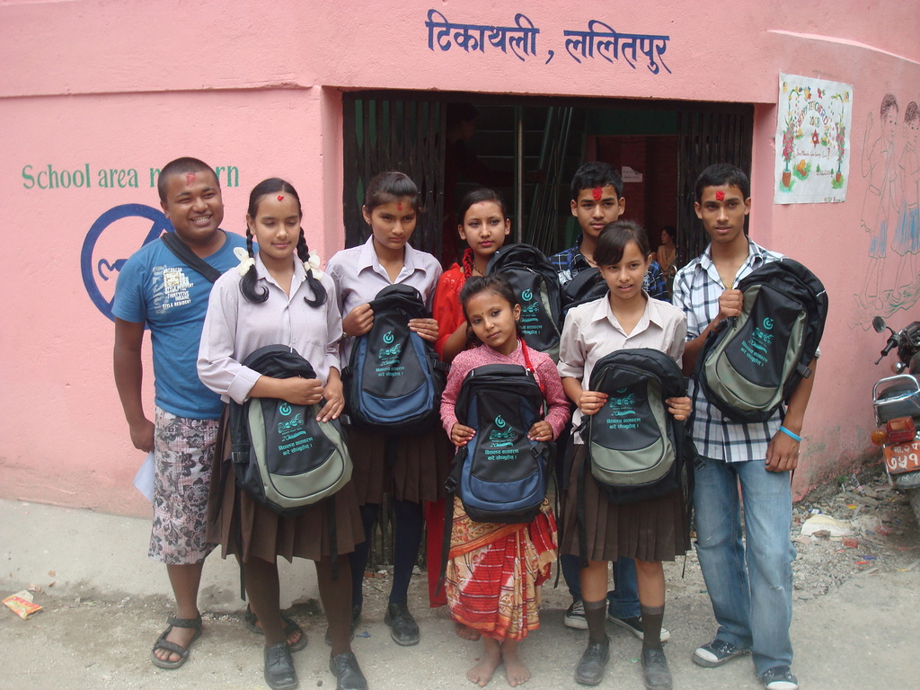 Students with Scholarship from the program