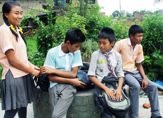 Scholar Students awarded in Teachers Day