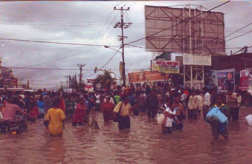 Relief for Natural Disaster Victims In Indonesia