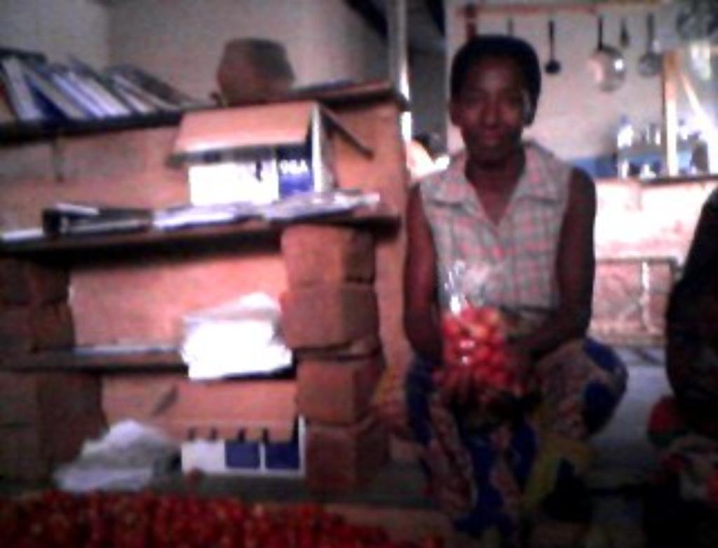 Beatrice with Cherry Tomato Harvest