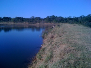 Simakalanga Dam - the site of Garden #3