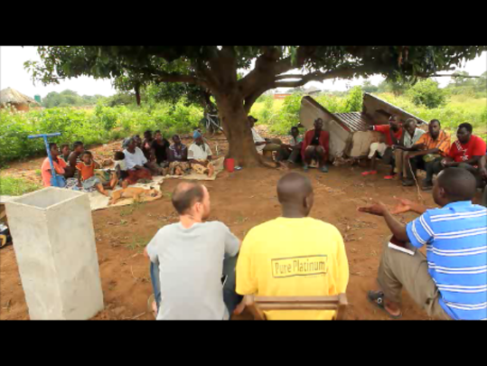 A village meeting (March, 2012) - always important
