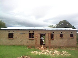 Finished House in Simango