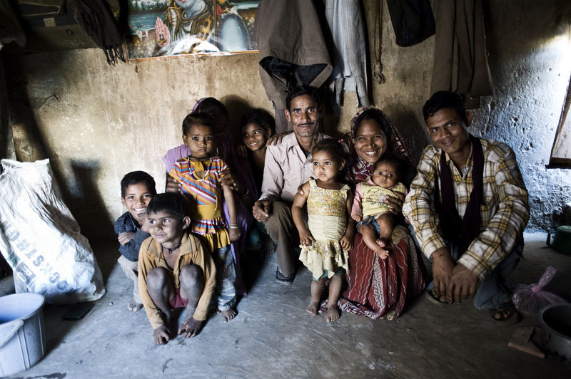A beneficiary family