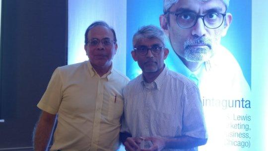 Sandeep Ahuja with Pradeep Chintagunta