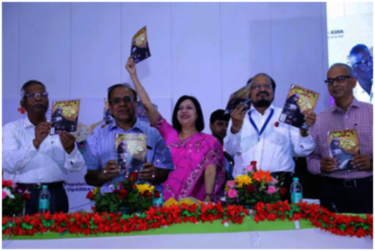 Launch of comic book
