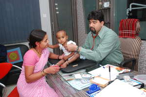 Deepa Kaha's health insurance paid for treatment.