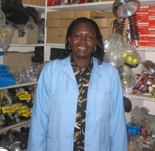 Joyce Njoroge, an Opportunity Kenya loan client