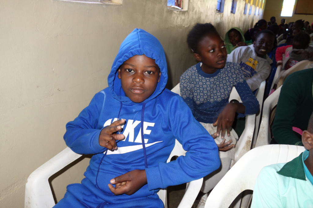 A typical child in our program