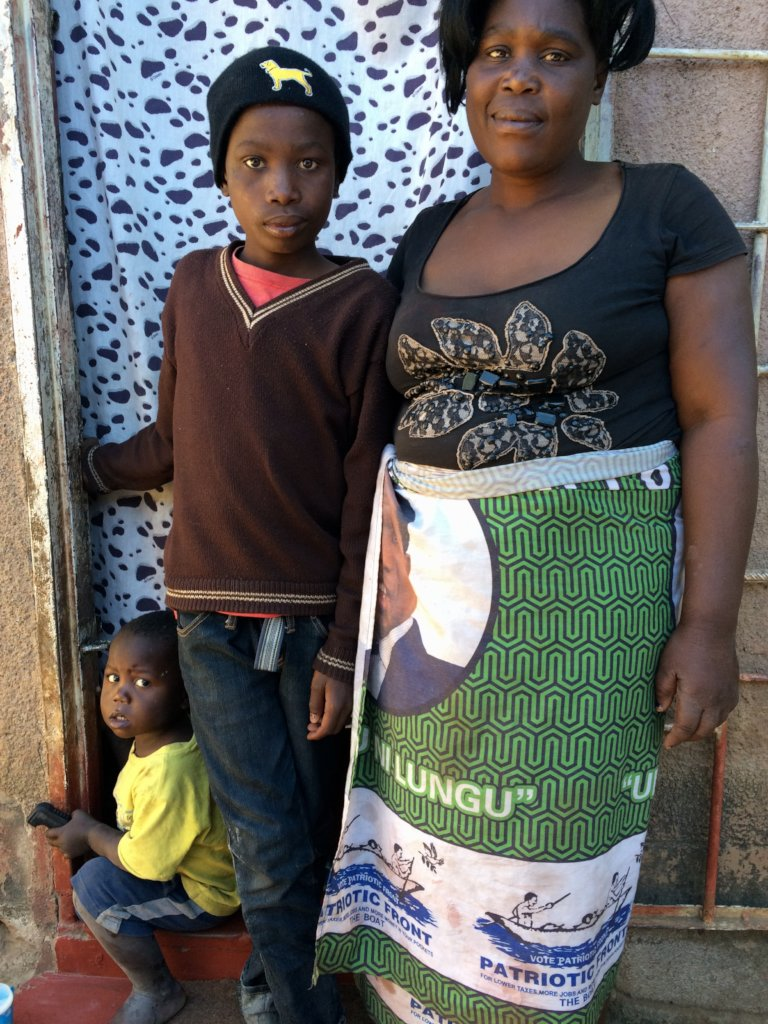 A beneficiary family