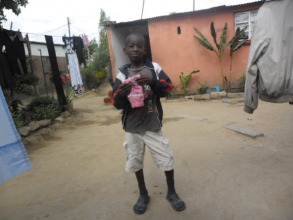 A child in our program