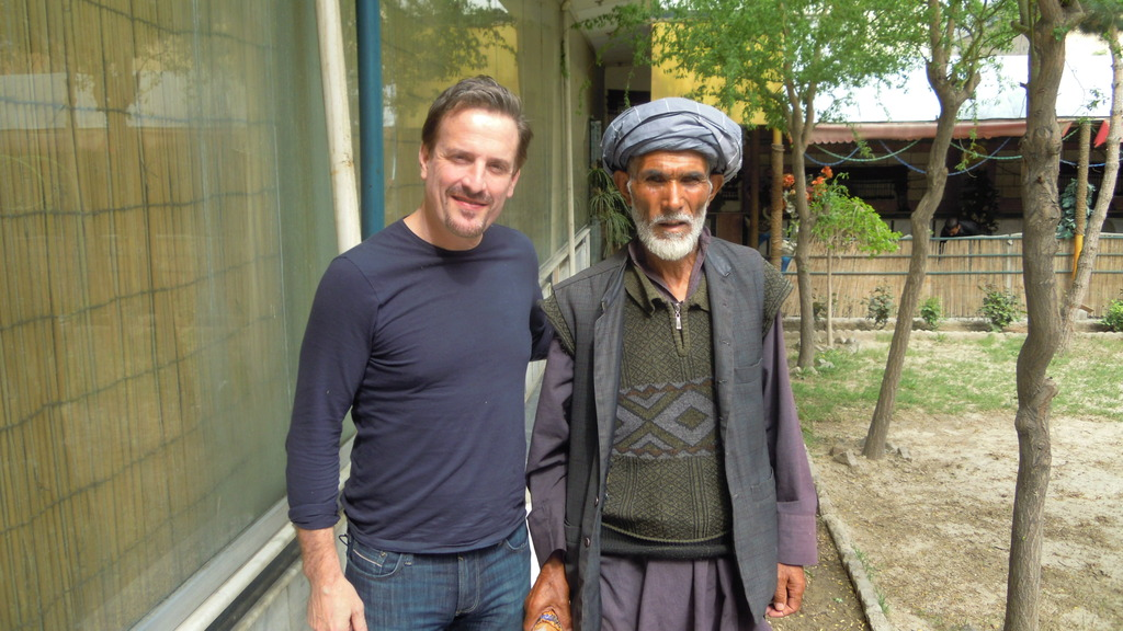 meeting village leader from Baharak in Kabul