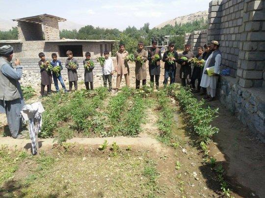 our newest Children's Garden in Faizabad