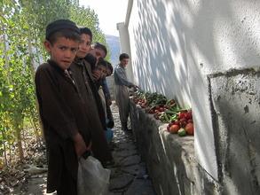 our orphaned children in Baharak