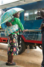 Mobile Banks reach clients in remote areas.