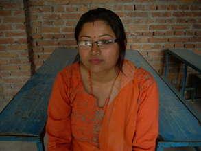 Anita Shrestha, camp participant