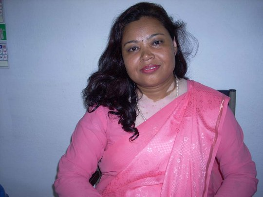 Ms Bimala Manandhar, aged 47