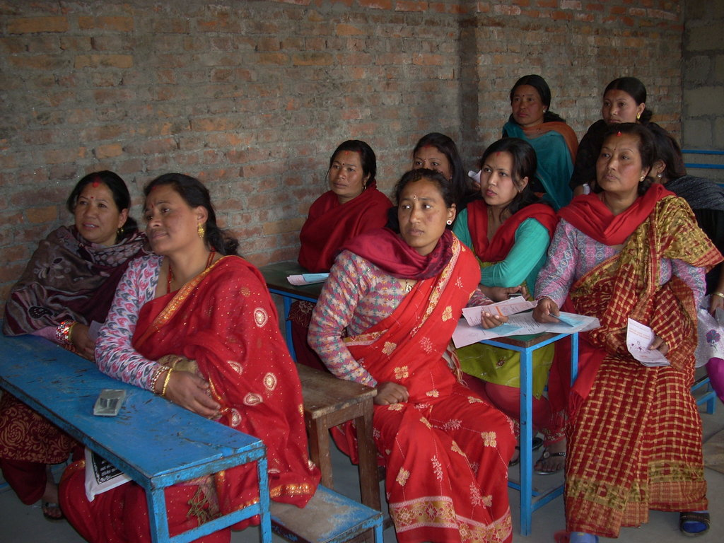 Breast cancer education session